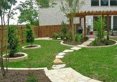 Home Garden Ideas: Small Yard Landscaping Design