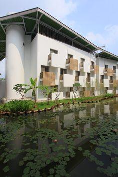 Moradia para o Campus ITRI - Taiwan,Cortesia de Bio-Architecture Formosana
