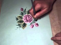 ▶ Grass (painting) and flowers, Brushstroke, irishkalia - YouTube