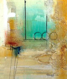 Beauteous 8 ... Original Contemporary Modern art  by Kathy Morton Stanion