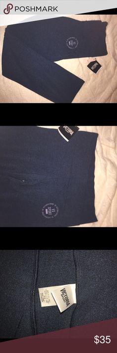 Victoria Secret Sport pants Boot cut pants. Navy blue. New with tags PINK Victoria's Secret Pants Boot Cut & Flare