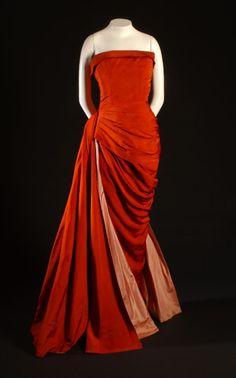 Schiaparelli Evening Dress ~ 1950's