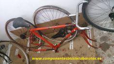 Siguiente proyecto, transformar a FIXIE , piñón fijo ! Propiedad de componentes bicicleta baratos en Zaragoza.
