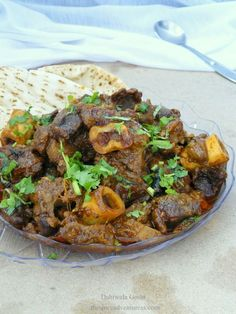 Dahiwala Gosht (Lamb simmered with spices in a smoky yoghurt curry)