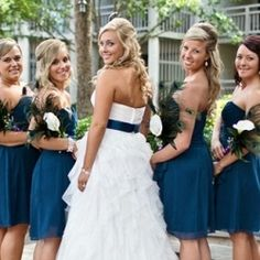 A lively peacock-inspired Hilton Head wedding at the beach!