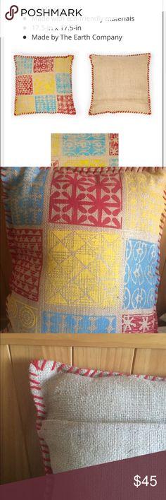Selling this Handmade Organic Designer Decor Cushion Brand New on Poshmark! My username is: frogger845. #shopmycloset #poshmark #fashion #shopping #style #forsale #the Earth Company #Other