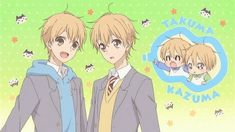 Gakuen Babysitters is too cute for words #anime #manga