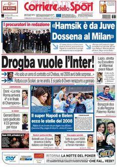 Corriere dello Sport – Stadio - Wikipedia Newspaper Format, Sports Website, Web Analytics