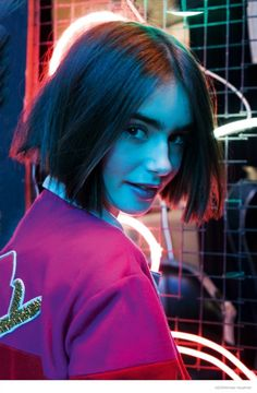 Lily Collins Stars in ASOS, Talks Style & Meeting Karl Lagerfeld