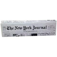 Pre-owned Kate Spade Rare Newspaper Newyork Club Maryanne Newspaper... (530 CAD) ❤ liked on Polyvore