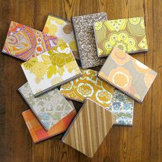 DIY: recycled paper notebooks