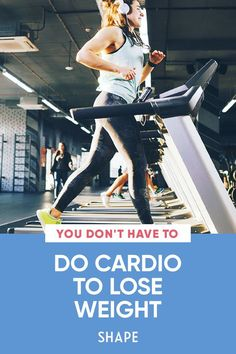 Here's why you might want to prioritize strength training if shedding pounds is on your to-do list-but you can't forgo breathing heavy forever. #cardioworkouts #athomeworkouts