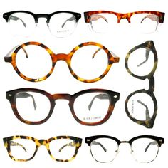 Black Eyewear for Men... but I would wear them Please follow: http://pinterest.com/treypeezy http://OceanviewBLVD.com
