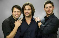 Supernatural cast funny