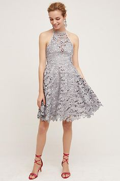 Keepsake Lace Halter Dress