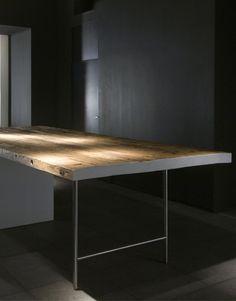 #interior design #kitchen details #wood tables - Boffi boffi-kitchen-duemilatto