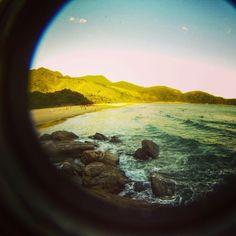 Foto de gopro na Praia de Santiago no litoral paulista. Mande a sua aventura para #desviantes. #aventura #viagem #praiadesantiago #goprobrasil