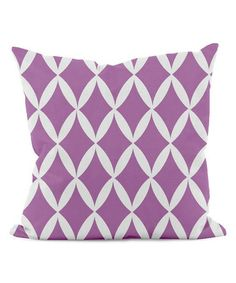 Love this Radiant Orchid Diamond Geometric Pillow on #zulily by DENY Designs, $20 !!   #zulilyfinds