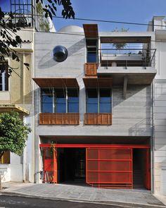 Το Σπίτι-Κουτί, κατοικία και χώρος πολιτιστικών δραστηριοτήτων στο Κουκάκι Τσιράκη Σοφία