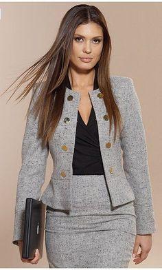 Business-Outfits Business-Outfits in 2020 Business Outfits, Office Outfits, Business Suits For Women, Business Casual, Work Suits For Women, Club Outfits, Blazer Fashion, Fashion Outfits, Womens Fashion