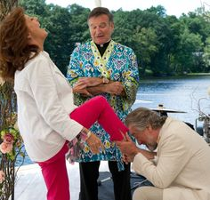 Robert de Niro, Robin Williams, Susan Sarandon (The Big Wedding)