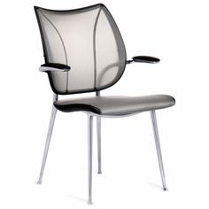 Applied Ergonomics - Humanscale Liberty Side Chair, $599.00 (http://www.appliedergonomics.com/humanscale-liberty-side-chair/)
