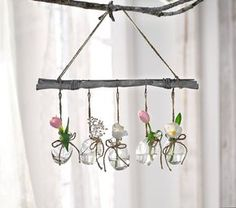 """Deko-Hänger """"Small Vases"""", 6tlg."""