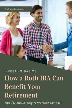 An important way how a Roth IRA can benefit you in retirement is by providing ta. - Finance tips, saving money, budgeting planner Money Tips, Money Saving Tips, Finance Blog, Finance Tips, Roth Ira, Saving For Retirement, Retirement Planning, Retirement Cards, Savings Planner