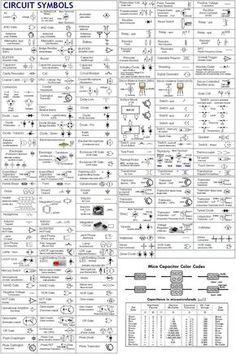 industrial wiring diagram vw golf mk5 airbag electric circuit circuits schematic symbols chart a considerably complete alphabetized table