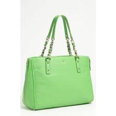 Kate Spade Lime Tote, women's handbags