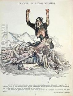 Caricature of the Boer War from LAssiette au Beurre, September 1901 by Jean Veber - Reproduction Oil Painting Francisco Goya, West Africa, South Africa, Bastet, Most Famous Paintings, New York Life, A Day In Life, Zulu, African History