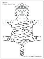 Tiger Printable Craft | LearnCreateLove.com | LearnCreateLove.com ...