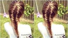 In this hair tutorial I show you how to do a fishtail braid on yourself with the step-by-step instructions . Fishtails are great you can do them as tight or ...