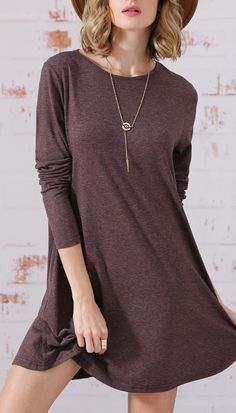 Long sleeve jumpers casual dress