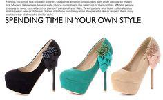Fashion Matte High Heel Pumps    $26.57