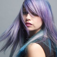 awesome 25 Cool Violet Hair Color Ideas - Your Inspiration for 2017 Check more at http://newaylook.com/best-violet-hair-color-ideas/