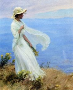 The Athenaeum - September Afternoon (Charles Courtney Curran - )