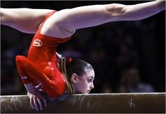 olympic gymnastics, balance beam, sports photography rubyjewels