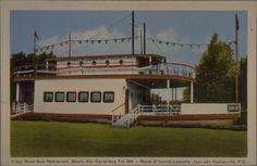 Plage Show Boat Restaurant, Beach, Ste. Genevieve Te. 389. - Route 37 tourné à gauche - turn left, Cartierville, P.Q. [image fixe]  