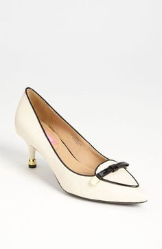Look at the heel-tip!    Isaac Mizrahi New York 'Janis' Pump available at Nordstrom