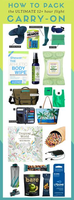 Thailand packing: Packing carry-on for Thailand: How to pack the ultimate carry-on for a long flight… click through to read more: http://www.kohsamuisunset.com/packing/ | Thailand packing ideas