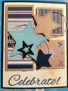 Nikki's Creative Nook: Star Birthday Card