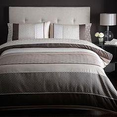 Chocolate 'Sophia' bed linen