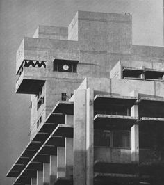 Wurster Hall, University of California, Berkeley, California, 1966