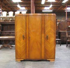 55208   oak french deco armoireHickory White Genesis 52  Enterainment Armoire   eBay   The  . Hickory White Furniture Ebay. Home Design Ideas