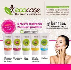 Nuova linea Benecos Natural Care su Ecocose. In promo lancio al 10% di sconto fino al 9/07