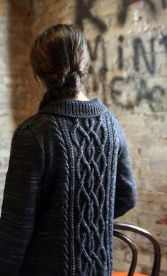 Definitely one for the Fantasy Knitting League. Just look at those cables