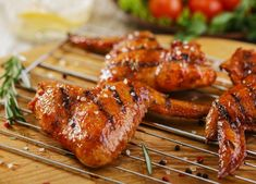 Ready for some Wings? Meaty, delicious and fabulous. Check out our Free-Range Chicken Wings. Sold by the pound. Wing Recipes, Meat Recipes, Chicken Recipes, Street Chicken, Free Range, Tandoori Chicken, Chicken Wings, Grilling, Good Food