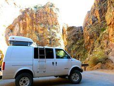 4x4 GMC Safari conversion van Van Conversion Layout, Van Conversion Interior, Camper Conversion, Chevy Astro Van, Chevrolet Astro, Custom Van Interior, Bicycle Safety, Bicycle Parts, Converted Vans
