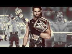 Wwe Superstar Roman Reigns, Seth Rollins, Wwe Superstars, Watch V, Batman, Wonder Woman, Baseball Cards, Superhero, Fictional Characters